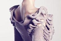 Sculptural Knitwear