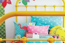 Kids bedroom & playroom / With two little girls I am always looking for new ideas and inspirations to (re)decorate their room.