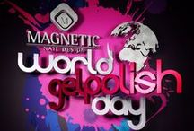 World Gelpolish Day / Unique event: World Gelpolish Day. All the Magnetic distributors have united and are organizing a FREE Gelpolish Workshop!