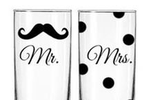 Gifts for The Newlyweds / That first holiday together as a new Mr. & Mrs. is a special one to be remembered always! We've collected a wide variety of gift ideas for the newlyweds in your life so that you can find the perfect one for that adorable couple.