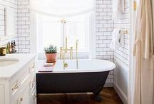 BATHROOM DESIGN / ideas for the smallest room in the house