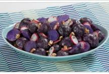 Purple Potato Recipes / Purple Potatoes are all the rage! Not only delicious, but healthy and help to lower your blood pressure.