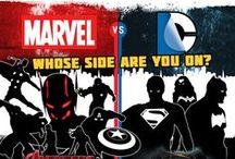 Marvel / DC / by Danielle Maser