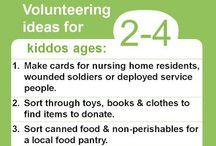 Volunteering / by Josie Wood