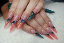 Nails by Masha Irina Oliynyk / Nails made by Masha Irina Oliynyk