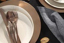 Coleção Copa&Cia / A marca Copa&Cia apresenta produtos de mesa posta, cozinha/gourmet e decoração, sempre bem acompanhados de funcionalidade, beleza e design.