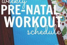 Pregnancy Fitness / Prenatal Yoga & Meditation Running Walking Swimming Lifting weights Pilates