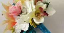 Bridal Bouquets / Everlasting Wedding Bouquets made from high quality silk flowers.