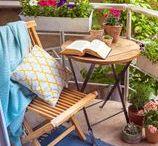 Ideias para o Jardim / Mesmo que você não tenha muito espaço em casa e tempo, ter um pequeno cantinho, onde possa desfrutar da natureza, respirar ar puro e descansar em seu tempo livre é muito importante. Inspire-se com estas ideias para o Jardim!