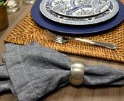 Decorando a Mesa com a Serenidade do Azul | Copa&Cia / A Copa&Cia traz uma linda inspiração para compor a mesa com a harmonia e serenidade que a cor azul transmite. Inspire-se para encantar e surpreender seus convidados!