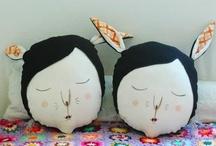 Dolls & Figurative Sculpure: Textile / by A Curious Work