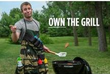 Father's Day Gifts / #fathersday gifts. Grillin' and chillin' gifts, sports fan gifts, Jack Daniels gifts, gifts he'll love!
