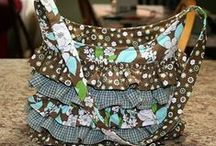 Bags, totes, purses, etc.     Fabric / by Ruth Gooch Reighard