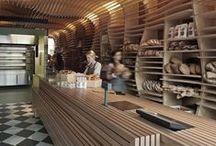 shop / retail + store design / visual display / branding + merchandising