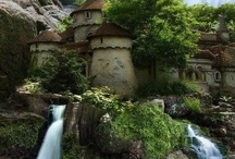 Old moss woman's secret garden / Taken from her photos on facebook