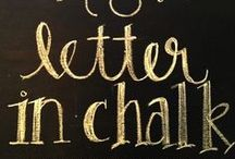 On the chalkboard ~