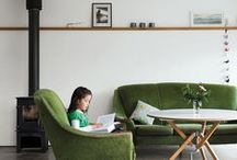 live / living room + communal space interiors