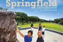 Springfield, IL Visitor Guide Covers / Check out some of our past Visitor Guide Covers! / by Visit Springfield
