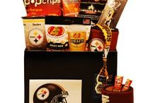Gifts for Pittsburgh Steelers Fans / Score a touchdown with Pittsburgh Steelers fans of all ages with gifts and baskets filled with officially licensed merchandise