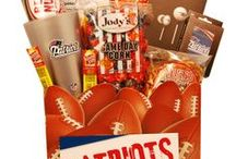 Gifts for New England Patriots Fans / Score a touchdown with New England Patriots fans of all ages with gifts and baskets filled with officially licensed merchandise