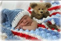 Crocheted Items for Babies / by Ruth Gooch Reighard