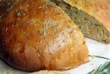 Breaking Bread / Breads, Rolls, & Biscuit Recipes / by Kimberly Clare