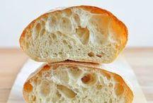Comer, beber, amar - Panes / Recetas y trucos para hacer panes y masas.