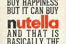 Nutella . . . nom nom nom! / Nom nom goodness made with Nutella!