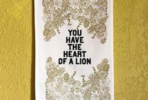 L I O N S / I'm the king of the jungle & you're the dirty rascal