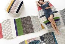 textlies / rugs / curtains / pillows / throws / etc.
