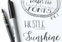 Font love / Free downloadable fonts...