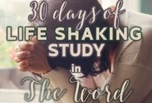 Life Shaking Word / 30 days of Life Shaking Study in The Word w/ Suzanne Eller
