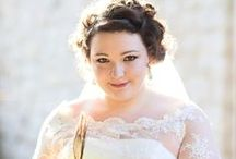 Plus size Wedding Dresses / Wedding dress inspiration for fabulous plus sized brides to be!