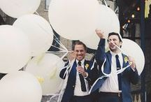 Same sex Weddings - Grooms / Our favourite snaps of gorgeous same sex weddings!   Bridebook.co.uk