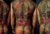 Perseverance: Japanese Tattoo Tradition in a Modern World / Traditional Japanese style or Japanese-inspired tattoo designs related to the exhibition Perseverance: Japanese Tattoo Tradition in a Modern World
