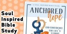 Anchored Hope / Anchored Hope: God-Confidence for Life's Storms 31-Day Scripture Journal and Bible Study Kit