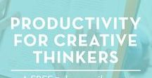 Productivity Tips + Tricks / The best productivity tips and tricks for creatives, small business owners and solopreneurs!