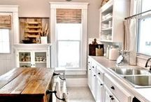 kitchen / Kitchen ideas and decoration inspiration.  / by Jamie {My Baking Addiction}