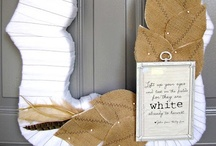Wreaths Inspiration / by Michelle Elliott