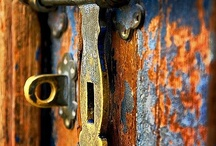 "Doors, Handles & Knobs / ""When one door closes, another opens; but we often look so long and so regretfully upon the closed door that we do not see the one which has opened for us."" ~Alexander Graham Bell / by Michelle Elliott"