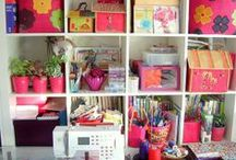 craft room / by Becky Miller