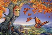 Artist: Josephine Wall / Fantasy Surrealist / by Lisa Golab