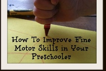 Fine Motor Activities / From handwriting to pinching to grasping and everything in between.