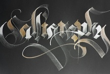 Lettering inspirations