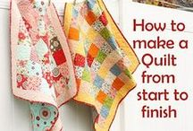 Quilting Tips and Tutorials / by Millie Bittman