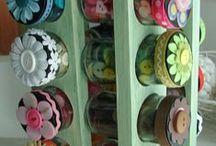 Craft supplies / by Becky Miller