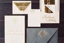 Invitations / Wedding invitations, design, calligraphy, and other wedding stationery.