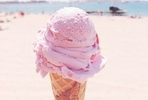 I ♥ ice cream / Homemade ice cream recipes. Ice cream decor and all things ice cream! / by Jamielyn - I Heart Naptime