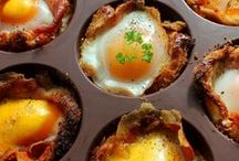 Breakfast Ideas / Eating a Good Breakfast is important for everyone.  Biscuits, bacon and eggs are hard to beat.  Try thinking outside the box and try something new! / by Bettye Forster
