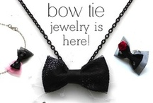 -▶◀- bow tie fashion.